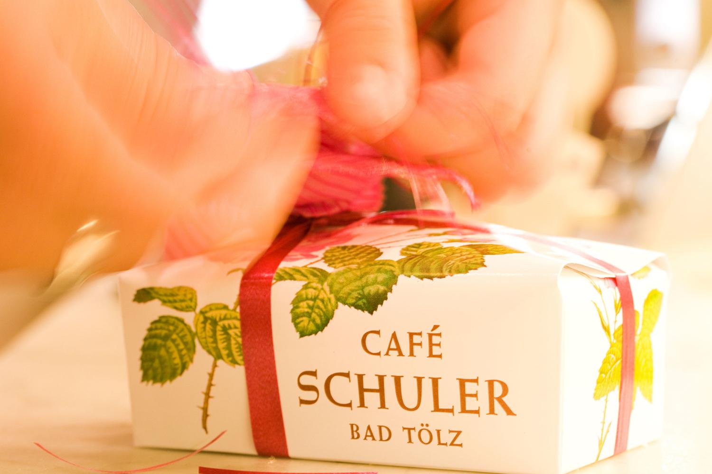 A souvenir from Cafe Schuler