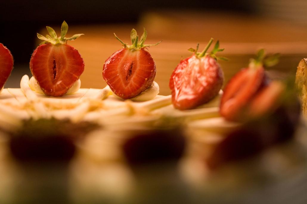 Erdbeer-Buttercremetorte